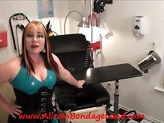POV Maitresse Renee&039;s Medical Room Rubber Chastity FemDom