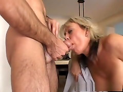 Horny pornstar Chennin Blanc in incredible big tits, mature cheat infront of video