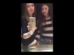 Lesbian kiss on I-Phone