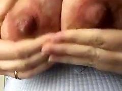 mature faye rampton and stella cox milking tits