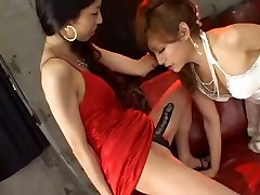 Exotic amateur shemale video with Fucks Girl, Lesbian scenes