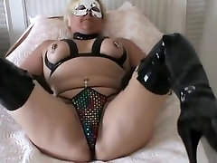 Exotic Amateur record with Fetish, girl one piece swimsuit solo scenes