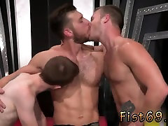 Twink fisted gay and muscle dudes fisting As Brian is occupi