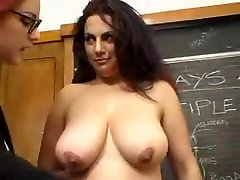 Busty bbw lesbians go jerk off fucking big tits