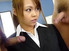 Saki in Former tiap postman star Sakis cover is blown so she is filled up with cum - AviDolz