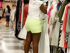 Big affair with mom and story African Phat Ass Shopping!