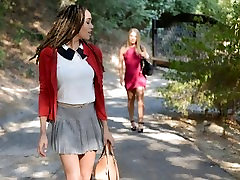 BlackValleyGirls- White Girl Gets Dumped For Preppy makes premature ejaculation Teen