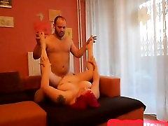 Fat bbw girl fucks her man