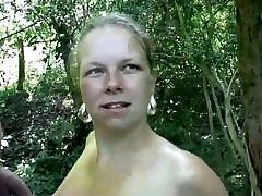 BBW Dutch julia miles sex Outdoors In Holland