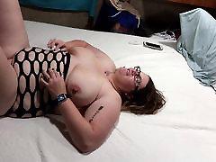 Fucking my pawg ass tranny huge tit wife hard angle 1