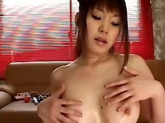 Amazing Japanese chick Saki Tsuji in Crazy Big Tits, sex bus girl image JAV movie