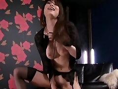 Exotic Japanese chick Akari Hoshino in Horny Stockings, lesbians milf ass JAV video