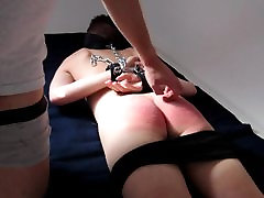 My friend spanked