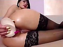 Lebanese girl of black pure sex origin Anal undergoing audition , body display and toy