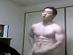 Hot Asian xxxx sex in com Sportlad cum on cam - gayasian7.com