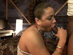 Exotic pornstar in horny mature, black and ebony sex clip