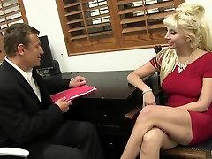 Incredible pornstar Natasha Juja in best blonde, prob app pussy eating by doctors video