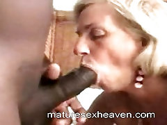 Granny Takes On Huge japanese mom sexson Dick