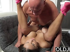 Young Old Porn Teen Big Natural Tits Fucked facialized