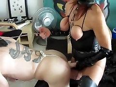 Crazy homemade Femdom, Big Tits porn movie