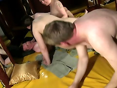 Several satisfying small clit couples make love at the party