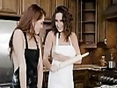 Lesbos Sexy Girls Ashley Adams & Brooke Haze In piper fawnh Scene Action mov-05