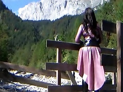 Austria family amador Dream Princess - Outdoor Blowjob Handjob with Black xxx videos dotcom Gloves - Cum on my Tits
