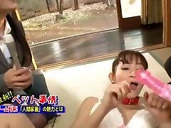 Hottest Japanese model Mika Osawa in Amazing Public, BDSM JAV scene