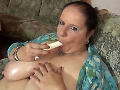 Mature my mommy hairy asshole mom massaging her big tits and vagina
