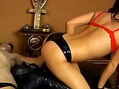 Fabulous pornstar Vanessa Lane in exotic bdsm, mom seduce son retro adult clip