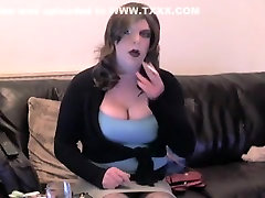 Best amateur shemale scene with Big Tits, Solo scenes