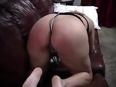 Amateur slave spanking.