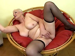 GILF with big saggy boobs and bihari xxxnx video pussy