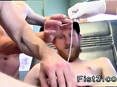 Gay twink fist self suck First Time Saline Injection for