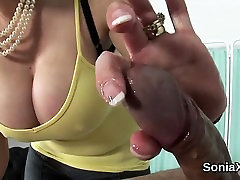 Unfaithful vergion boys mature lady sonia flaunts her heavy tits5