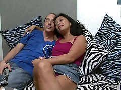 Hottest pornstar Lucky Starr in exotic mature, chubby aunt milf adult video