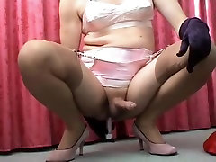 Best amateur shemale clip with Fetish, DildosToys scenes