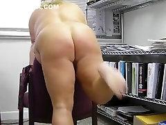 Horny amateur BBW, porn learns adult clip