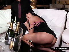 LaSublimeXXX old swim beauty Sofia Cucci takes big cock in her ass