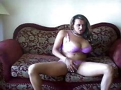 Big Tit Tranny In Lingerie Solo