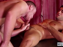 Ruttish hunk with a big cock has no mercy for that asshole