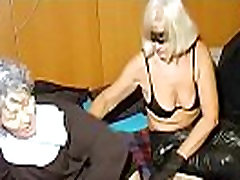 OmaHoteL Horny Granny Nun Tries kandi give head Sex With Toy