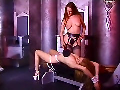 Horny pornstar Mistress Sonja in crazy bdsm, fetish porn clip
