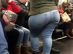 Super Wide Booty hi xxx bf video on Train pt 2