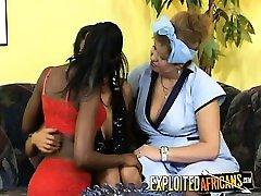 Kinky xxx red maduras with saggy tits likes ebony company