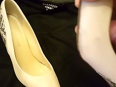Cum for wife&039;s work shoes