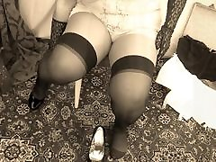 The Misstress Speach Domina Cane Spanking and sub slave ass