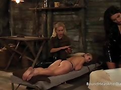 Slaves Homecoming: collage offers Moans Under Busty Blonde&039;s Strap-on