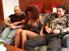 Wife joins 2 guys fucking a escort