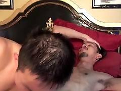 Asian vidio bokep hongkong hd coom rides straight guy dick and cums after blowjob